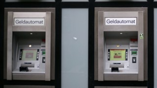 Geldautomaten der Sparkasse