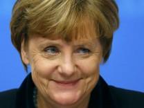 German Chancellor Merkel attends CDU party congress in Karlsruhe