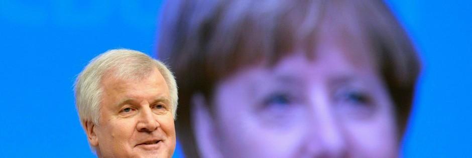 Horst Seehofer beim CDU-Parteitag