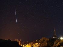 Geminid meteor shower phenomenon in Thailand
