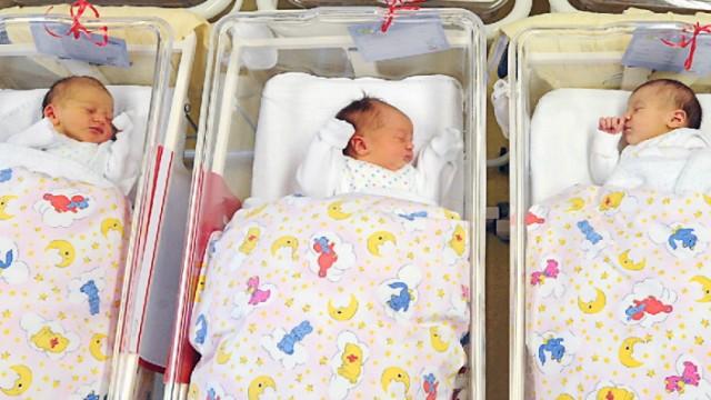 Sachsen hat höchste Geburtenrate in Deutschland
