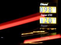 Kraftstoffpreise über Weihnachten