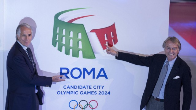 olosseum logo unveiled for Rome's 2024 Olympics bid