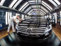 Gläserne Manufaktur Dresden: VW Phaeton