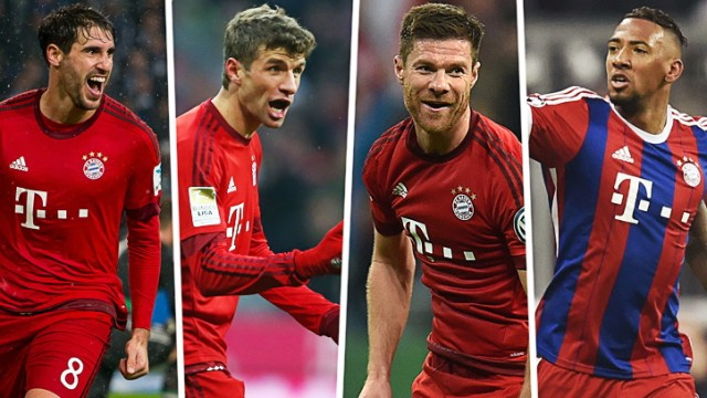 FC Bayern München Müller, Boateng und Co.