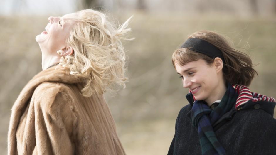 """Carol"" mit Cate Blanchett und Rooney Mara im Kino"