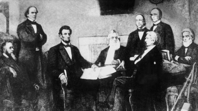 Präsident Lincoln proklamiert Sklavenbefreiung