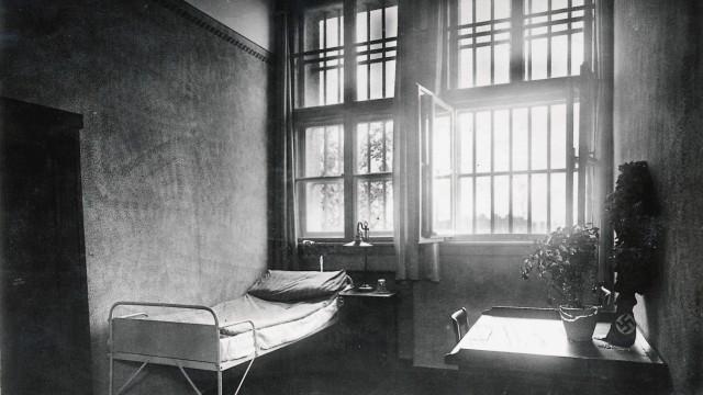 Gefängniszelle Hitlers während seiner Haft in der Festung Landsberg