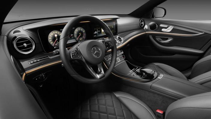 Der Innenraum der neuen Mercedes E-Klasse