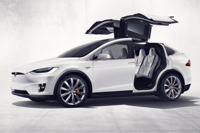 Das neue Tesla Model X.