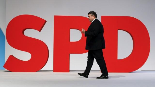 Sigmar Gabriel auf dem Parteitag der SPD in Berlin