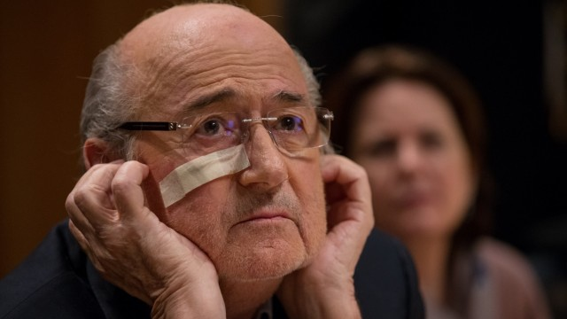 BESTPIX Sepp Blatter Press Conference