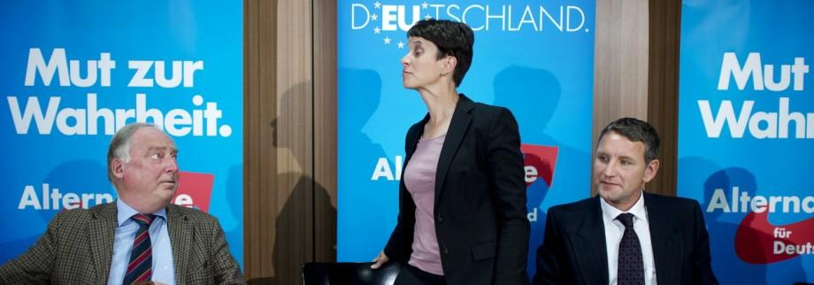 Frauke Petry AfD DEU Deutschland Germany Berlin 01 09 2014 Frauke Petry Spitzenkandidatin der
