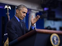 President Barack Obama Holds Press Conference