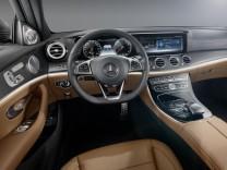 Der Innenraum der neuen Mercedes E-Klasse.