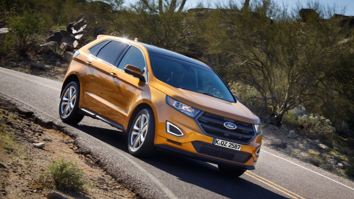 Der neue Ford Edge.