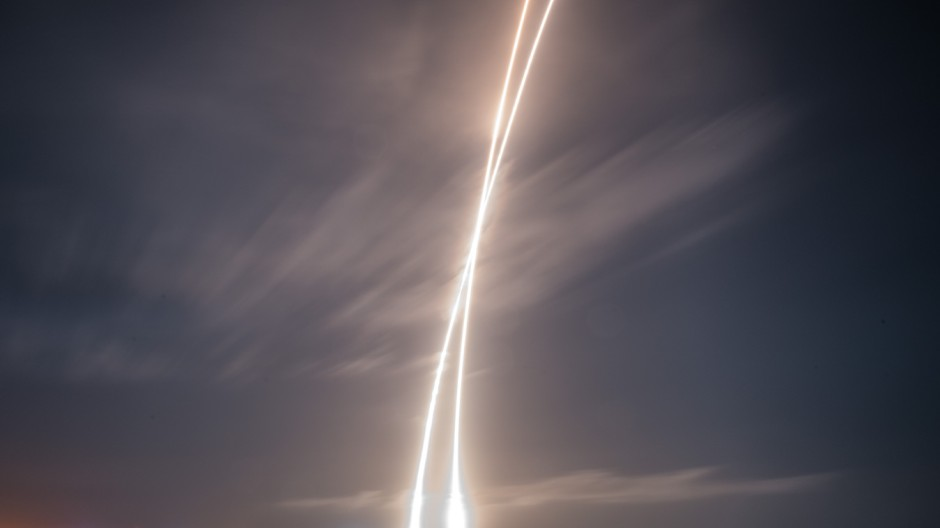 SpaceX successfully lands its first reusable rocket
