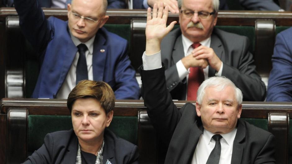 Jaroslaw Kaczynski, Beata Szydlo
