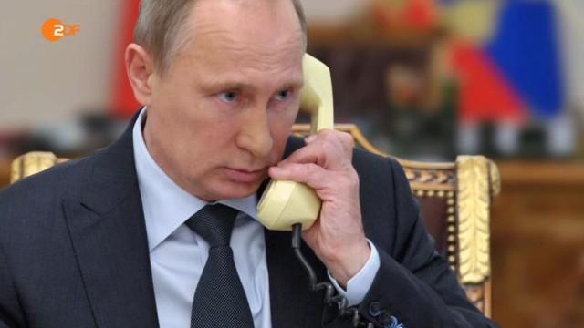 Krieg in der Ukraine Ärger um ZDF-Doku über Putin