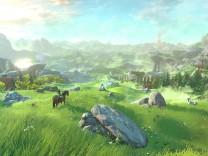 "Szene aus ""Legend of Zelda: Breath of the Wild"""