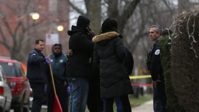 Polizist in Chicago, USA, erschießt zwei Schwarze