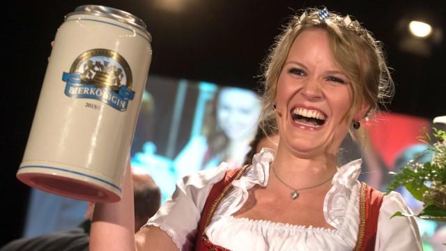 Wahl der Bayerischen Bierkönigin 2015