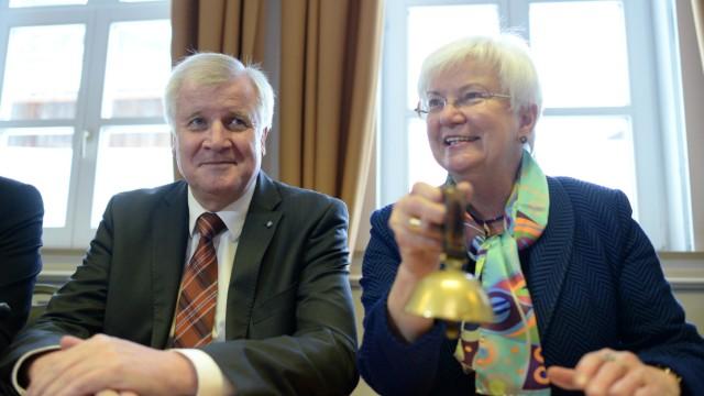 Gerda Hasselfeldt und Horst Seehofer