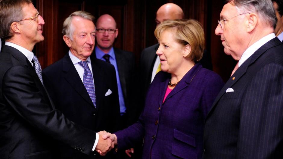 Bundeskanzlerin Merkel besucht Ost-Ausschuss der Deutschen Wirtschaft