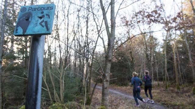 Taufkirchen, Trimm Dich Parcours mit nostalgischem Charme,