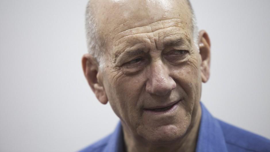 Former Israeli Prime Minister Ehud Olmert sentenced to eight mont