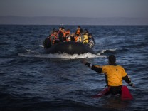 Flüchtlinge auf Lesbos/Griechenland