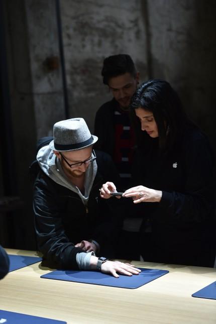 Apple Debuts New Watch In Milan