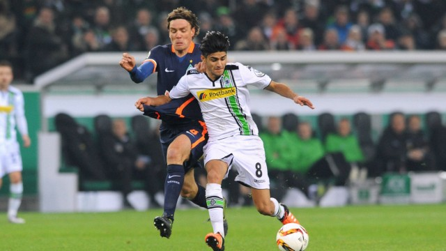 Fussball Herren Deutschland DFB Pokal Saison 2015 2016 Achtelfinale Borussia Park Mönchengladb