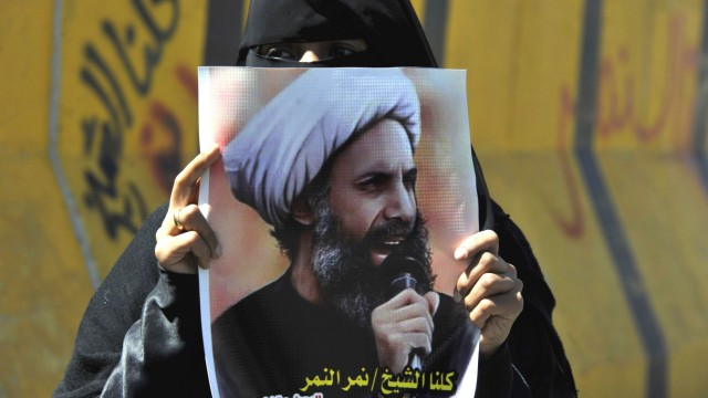 Shiite Houthis protest Saudi death sentence for Shiite leader
