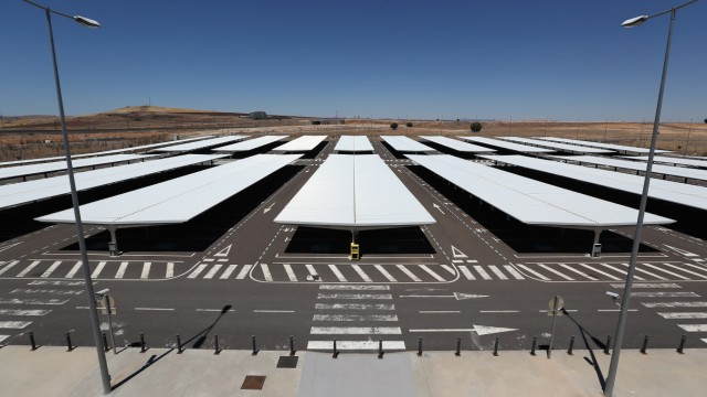 (FILE) Economic Crisis Creates Incomplete Infrastructure Projects In Spain Economic Crisis Forces Mothballing Of Cuidad Real International Airport