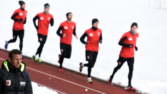 Trainingsauftakt FC Augsburg