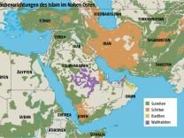 Sunniten Schiiten Naher Osten