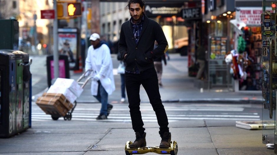 CES Hoverboards