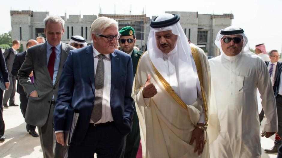 Außenminister Steinmeier in Saudi-Arabien