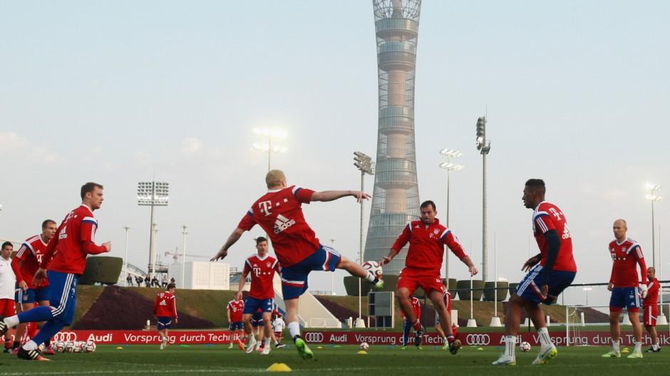 Bayern Muenchen - Doha Training Camp Day 8; FC Bayern Katar 2015