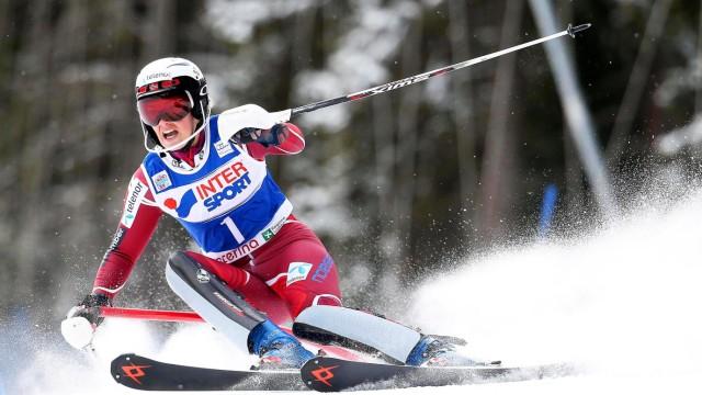 Alpine Skiing World Cup in Santa Caterina