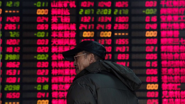 Finanzkrise in China Aktien