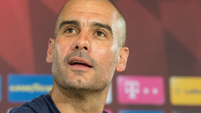Pressekonferenz mit Pep Guardiola