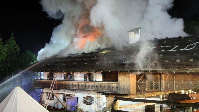 Das war 2015 - Großbrand in einem Eventhotel