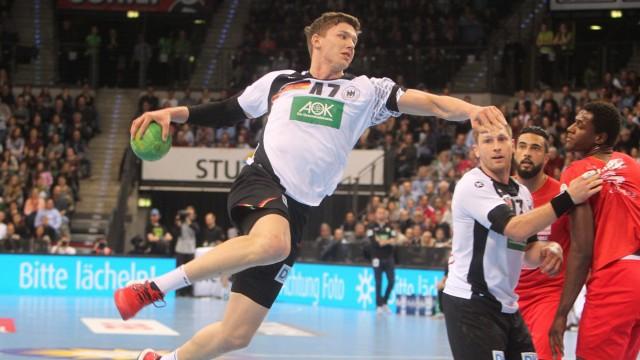 Deutschland Tunesien 05 01 2016 Deutschland Handball Ländespiel Männer Deutschland Tunesien Stuttgar