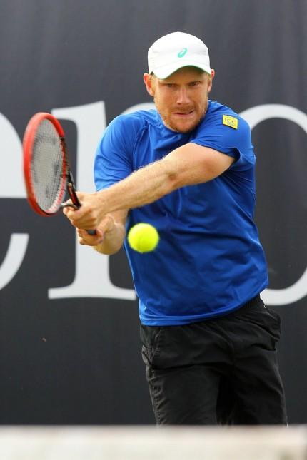 Matthias Bachinger GER Mercedes Cup Tennis ATP Tennis Herren World Tour 08 06 2015 Foto Lang; Tennis