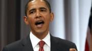 Obama bei einer Rede in New York