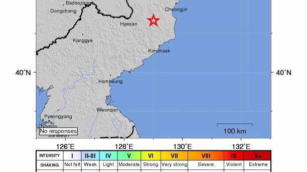 Magnitude 5.1 magnitude earthquake