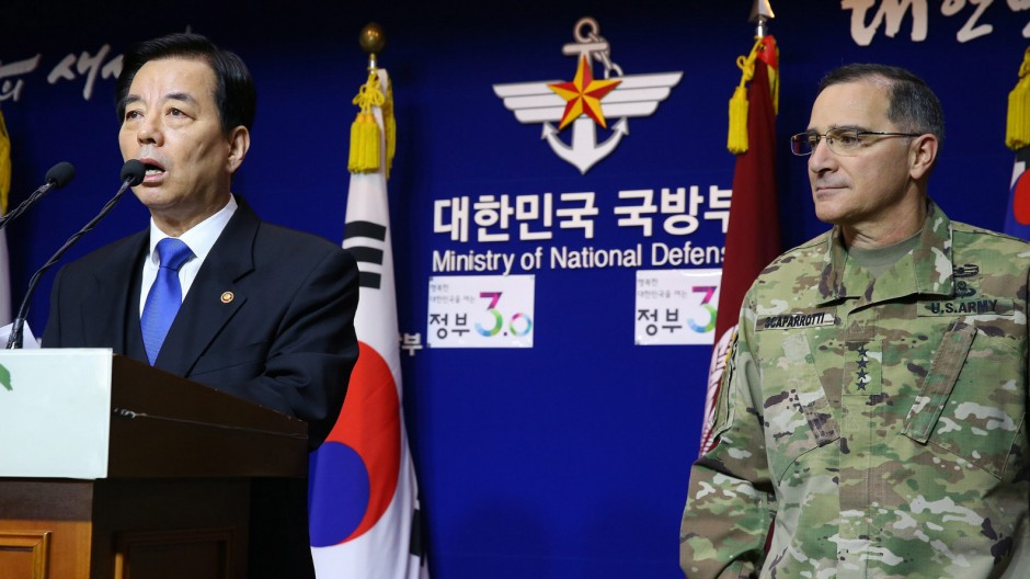 Seoul, Washington pledge coordinated response to N.K. bomb test