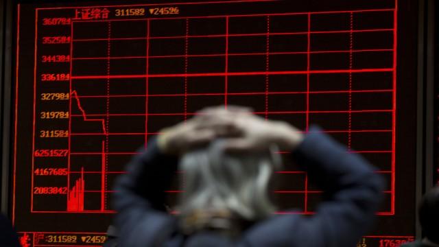 Finanzkrise in China Finanzmärkte